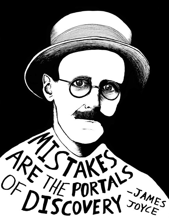 James Joyce is the Wisest Man I've Ever Come Across in Literature.