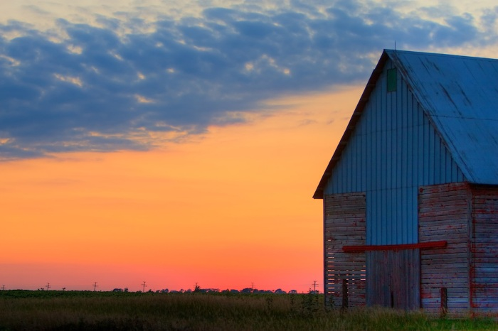 Old-Barn-Sunset